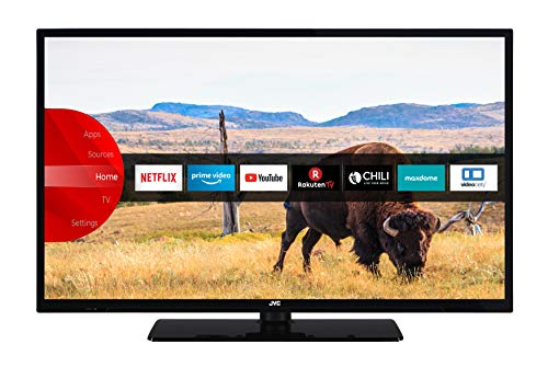 JVC LT-32V55LFA 81 cm / 32 Zoll Fernseher (Smart TV inkl. Prime Video / Netflix / YouTube, Full HD, Bluetooth, Triple-Tuner)
