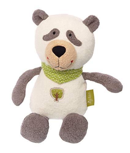 SIGIKID Mädchen und Jungen, Stofftier Panda, Kuscheltier, empfohlen ab 0 Monaten Weiß, 39012