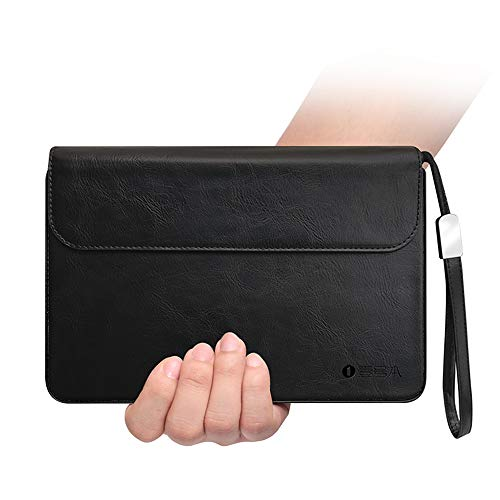 Official Protective Leather Case Bag for One Netbook One Mix OneMix 3/3 PRO / 3S / 3S Platinum Edition Laptop 8.4 Inches Windows 10 System UMPC Mini Laptop Cover case (Black)