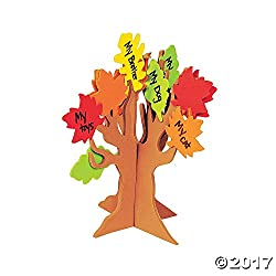 tree of thanks craft