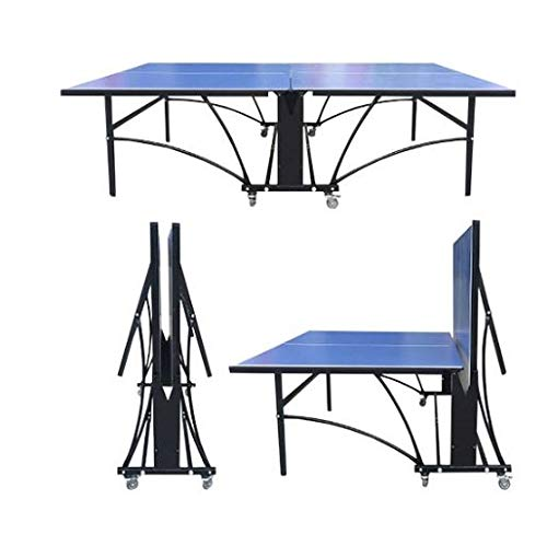 Softee Equipment Mesa Tenis DE Mesa Interior Mojave - Color Gris Y Azul