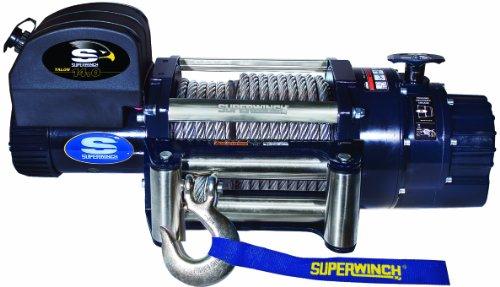 Superwinch 1614200Talon 14,0, 12VDC Seilwinde, 14.000LB/6,350kg Kapazität mit Roller Klüse