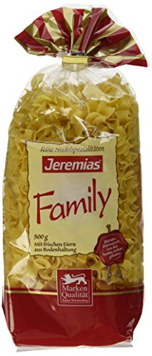 Jeremias Fleckerl, Family Frischei-Nudeln (1 x 500 g Beutel)