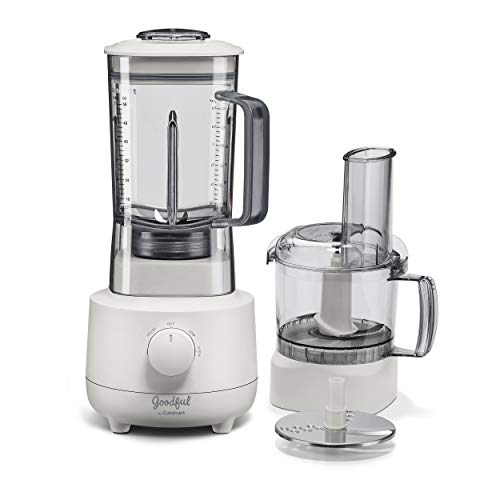 Goodful by Cuisinart BFP700GF Food Processor, Blender Combo, White