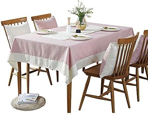 Hongsebuyi Tischdecke Baumwolle Und Leinen Rechteckige Tischdecke Einzigartige Party Tischdecke Tee Tischdecke Geeignet Für Home Office Meeting Hotel (Größe   180x180cm)
