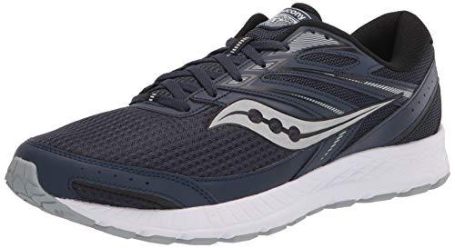 Saucony Men's Cohesion 13 Running Shoe, Indigo/Silver, 9