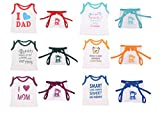 Toddylon Baby Boys and Baby Girls Soft Hosiery Cotton T Shirt and Nappy