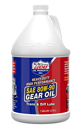 Lucas Oil LUC10046 SAE 80W-90 Heavy Duty Gear Oil - 1 Gallon