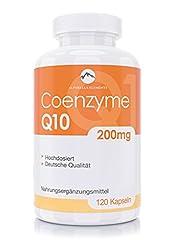 100% veganistische en hoge doses met 200mg co-enzym Q10 per capsule – 120 capsules Alparella Elements – vervaardigd in Duitsland*