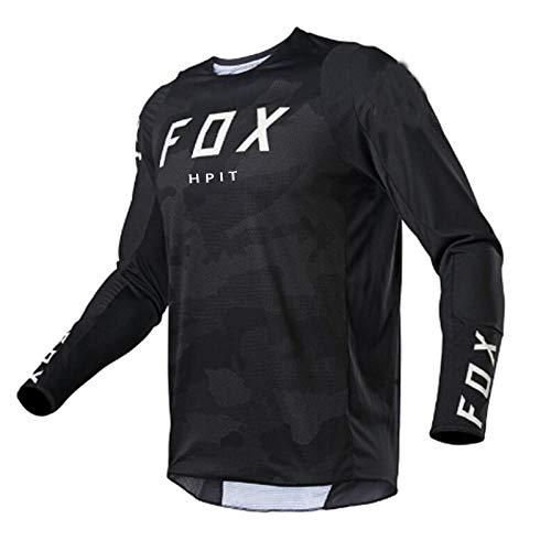 PYMNDZ moto bicycle jersey long sleeve cycling enduro mtb shirt downhill t-shirt camiseta motocross mx mountain bike clothing fox mtb-XL