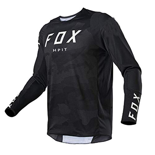 Motocross jersey mtb downhill jeresy fxr cycling mountain bike DH maillot ciclismo hombre quick dry jersey hpit fox -M