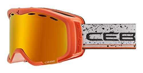 Cébé Cheeky skibrillen, uniseks, volwassenen, mat oranje, small