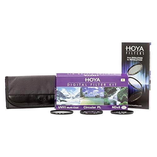 Hoya Digital Filter Kit (49mm, inkl Cirkular Polfilter/ND-Filter (NDx8)/HMC-C, UV-Filter)