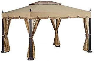 Garden Winds Replacement Canopy for Home Depot's Mediterra Gazebo (10'x12)