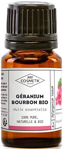 Olio essenziale di geranio bourbone Organico - MyCosmetik - 10 ml