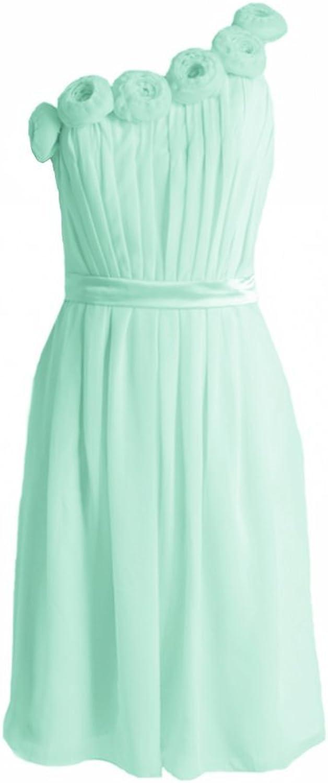 DaisyFormals reg; Floral One Shoulder Bridesmaids Dress Party Dress (BM239S)