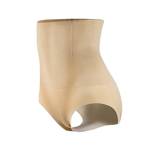 KSKshape Damen Miederslip mit Bauch-Weg-Effekt Miederpants String Mieder Butt Lifter Shaper figurenformend Shapewear,Beige,M/L1