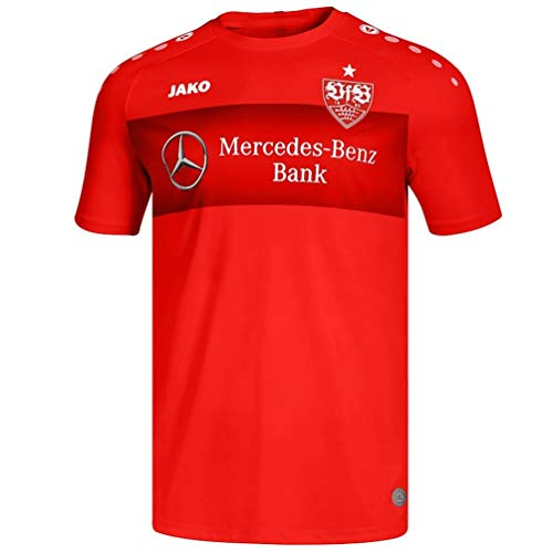 JAKO Kinder VfB Stuttgart Teamline T-Shirt, rot, 164