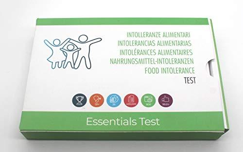 Prueba de Alergias principales - Kit de prueba de intolerancia alimenticia - Nueces, gluten, lactosa, polen - Detecta hasta 300 artículos - Incluye 1 prueba