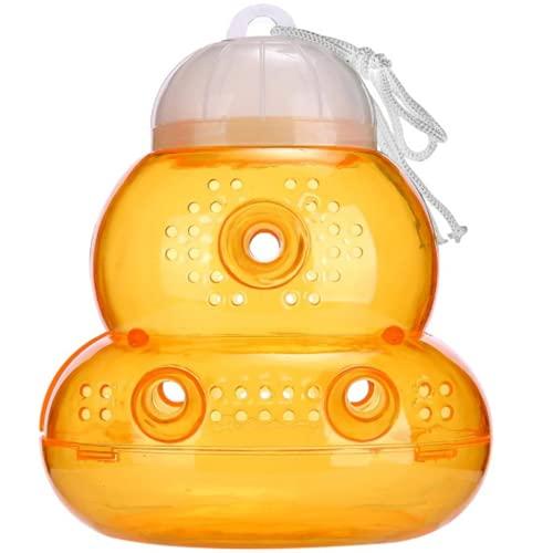 N Naturly Trampa para Avispas Trampa Moscas, Avispón, Abejas y Abejorros | Trampa para Control de Plagas en Verano. Reutilizable