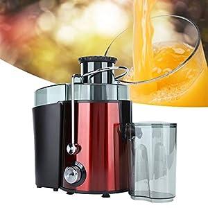 Exprimidor eléctrico, exprimidor de bajo ruido con protección contra sobrecarga para frutas duras para frutas blandas