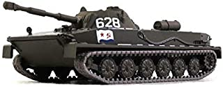 Russian Tanks PT-76 Amphibious Light Tank USSR 1951 Year 1/72 Scale Green Diecast Model Tank
