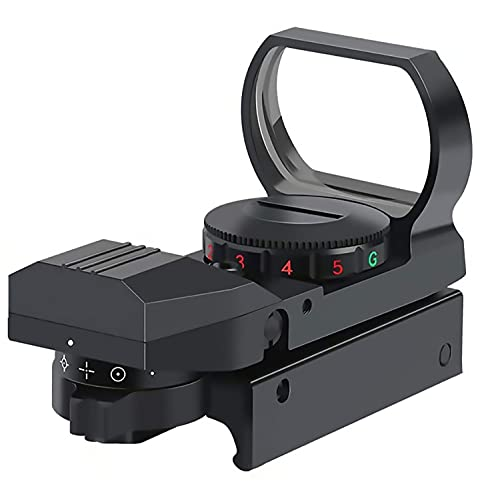 Red Dot Sight Gun Sights for Rifle Shotgun Pistol Reflex Sight with 4 Switchable Reticle & 20mm...