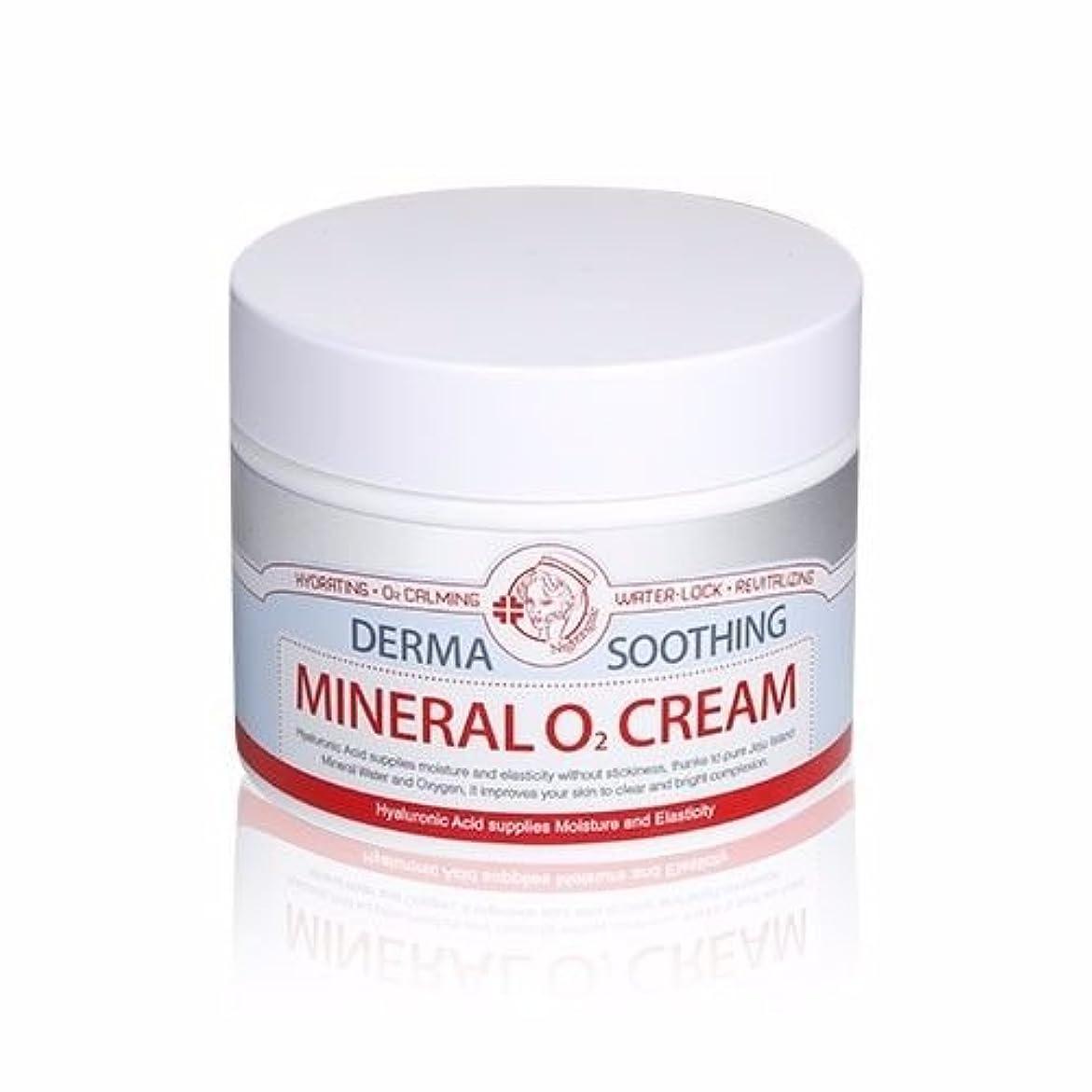 スポークスマン助言近所のNightingale Derma Soothing Mineral O? Cream 100ml/ナイチンゲール ダーマ スージング ミネラル オーツー クリーム 100ml [並行輸入品]