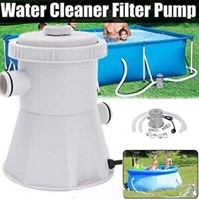 unbran 60pcs Cartridge Pool Filters Pump, Pool Pumps Above Ground,Electric Swimming Pool Filter Pump for Above Ground PoolsCleaning Tool+ Filter Cartridge