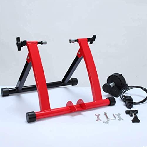 YQTXDS Bike Trainer Turbo Trainer Soporte magnético para Entrenador de Bicicletas con regulador de Control de Cable, reducción de Ruido, Qui (Entrenador de Bicicletas)