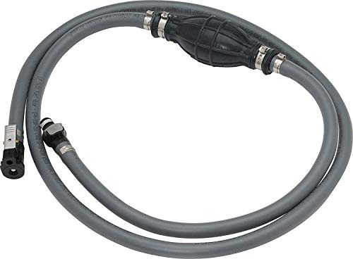 """3//8/"""" PVC /&Nylon Fuel Line Assembly with Primer Bulb Kit for Boat Outboard Marine"""
