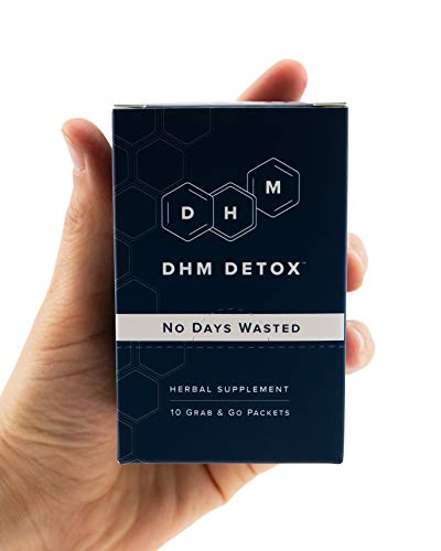 DHM Detox® - No Days Wasted® - Dihydromyricetin (DHM Supplement), Milk Thistle, Prickly Pear, B Vitamins, Hydration Electrolytes Blend-Take After-Alcohol to Aid Recovery