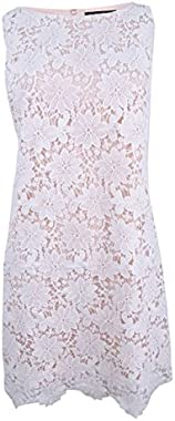 Jessica Howard Women's Lace Overlay Dress