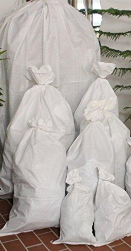 Jehaplast 10 Stück PP Gewebesäcke Größe zum auswählen (65 x 135)
