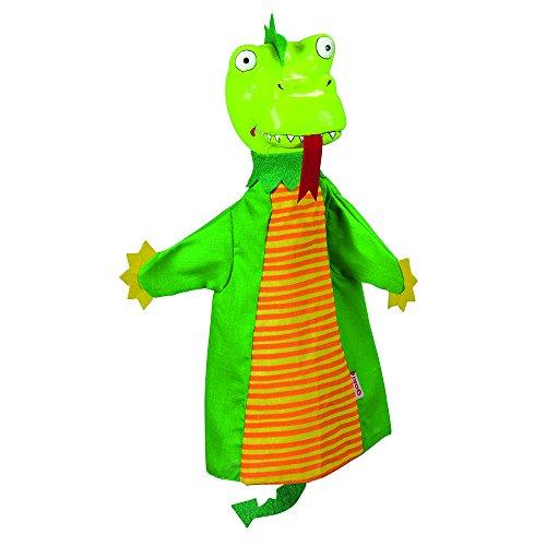 Goki - 2040595 - Marionnette À Mains en Peluche - Dragon