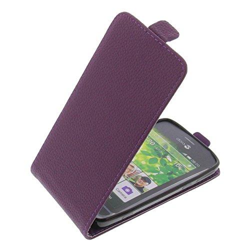 foto-kontor Tasche für Doro Liberto 820 Smartphone Flipstyle Schutz Hülle lila