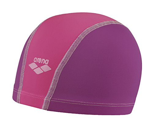 Arena Unix Junior, Cuffia Unisex Bambini, Multicolore (Plum/Fuchsia/Bubble), Taglia Unica