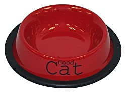 cat water bowls that wont tip over