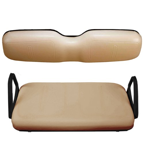 EZGO 750320PKG Front Seat Cover Package, Tan