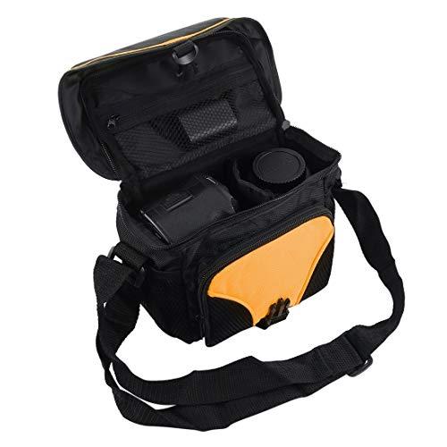 Bolso de cámara Digital de un Solo Hombro portátil de HH con Correa Sunshine20 (Color : Color1)