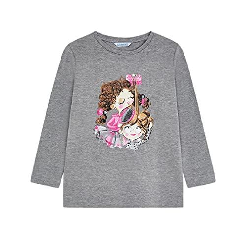 Mayoral Camiseta Manga Larga serigrafia niña Modelo 4014