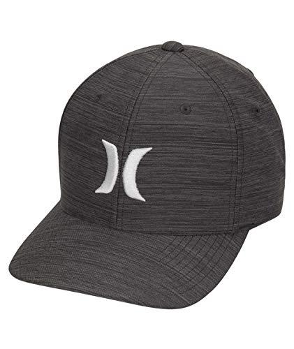 Hurley Herren Hut M Dri-Fit Cutback Hat, Black/Blue Graphite, L/XL, AH9624