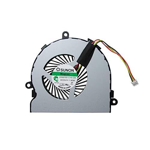 UTS-Shop Ventilador de procesador para Dell Inspiron 15R 3521 3537 3721 3737 5521 5537 5721 5735 5737