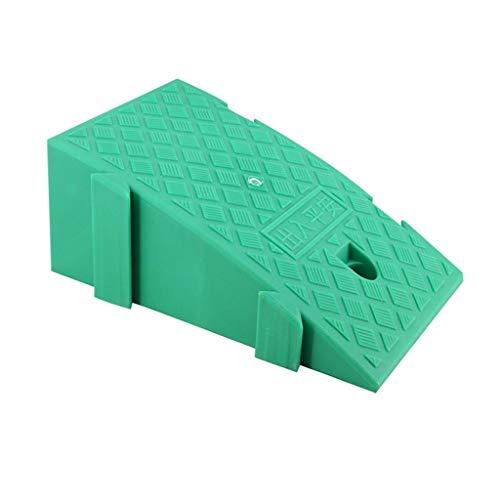 Buffer-Feng deurmat, kunststof, driehoekig, antislip, voor garage-ingang, hellingen voor auto's, 16-19 cm