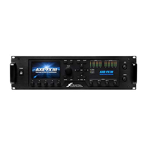 Fractal Audio Systems Axe-Fx III マルチエフェクター フラクタルオーディオ