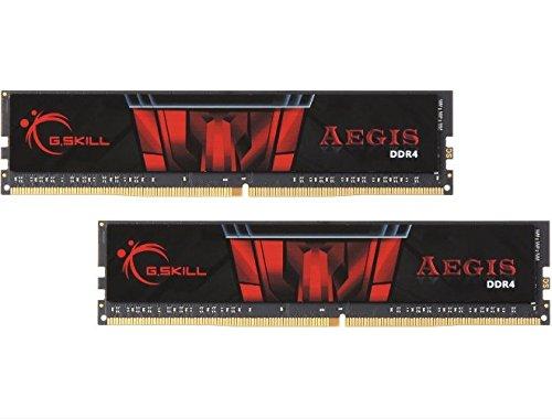 G.SKILL 8GB (2 x 4GB) Aegis DDR4 PC4-19200 2400MHz for