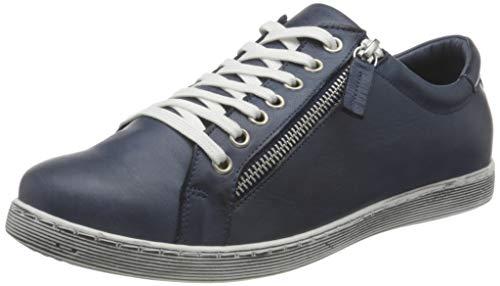 Andrea Conti Damen 0346839 Sneaker, Navy, 36 EU