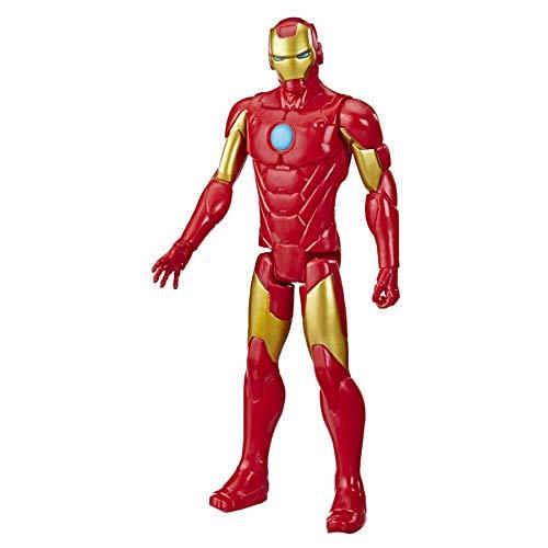 Avengers - Iron Man (Action figure 30 cm con blaster Titan Hero Blast Gear)