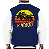 Cloud City 7 Madrid Vintage Sun Men's Varsity Jacket