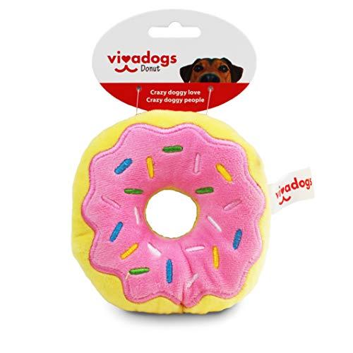 Vivadogs - Donut - Juguetes para Perros - Juguetes para Perros Cachorros...